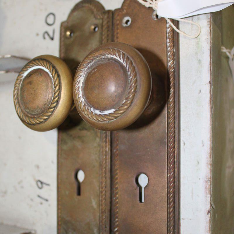 Door Furniture-Brass Door Furniture