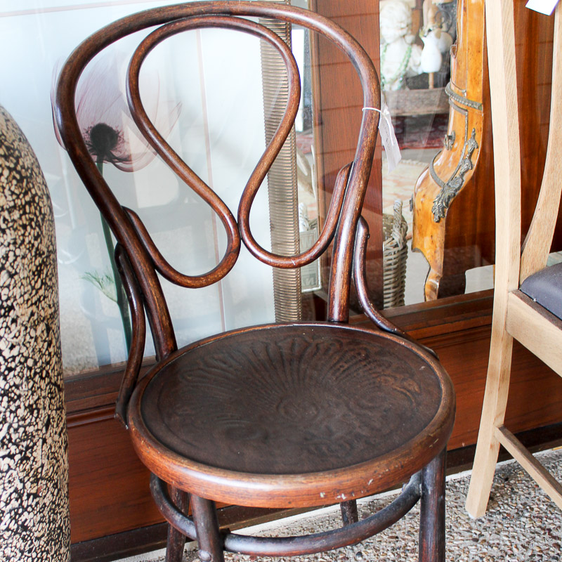 Antique Bentwood Chair - Antique Bentwood Chair - Art Antiques Antlers