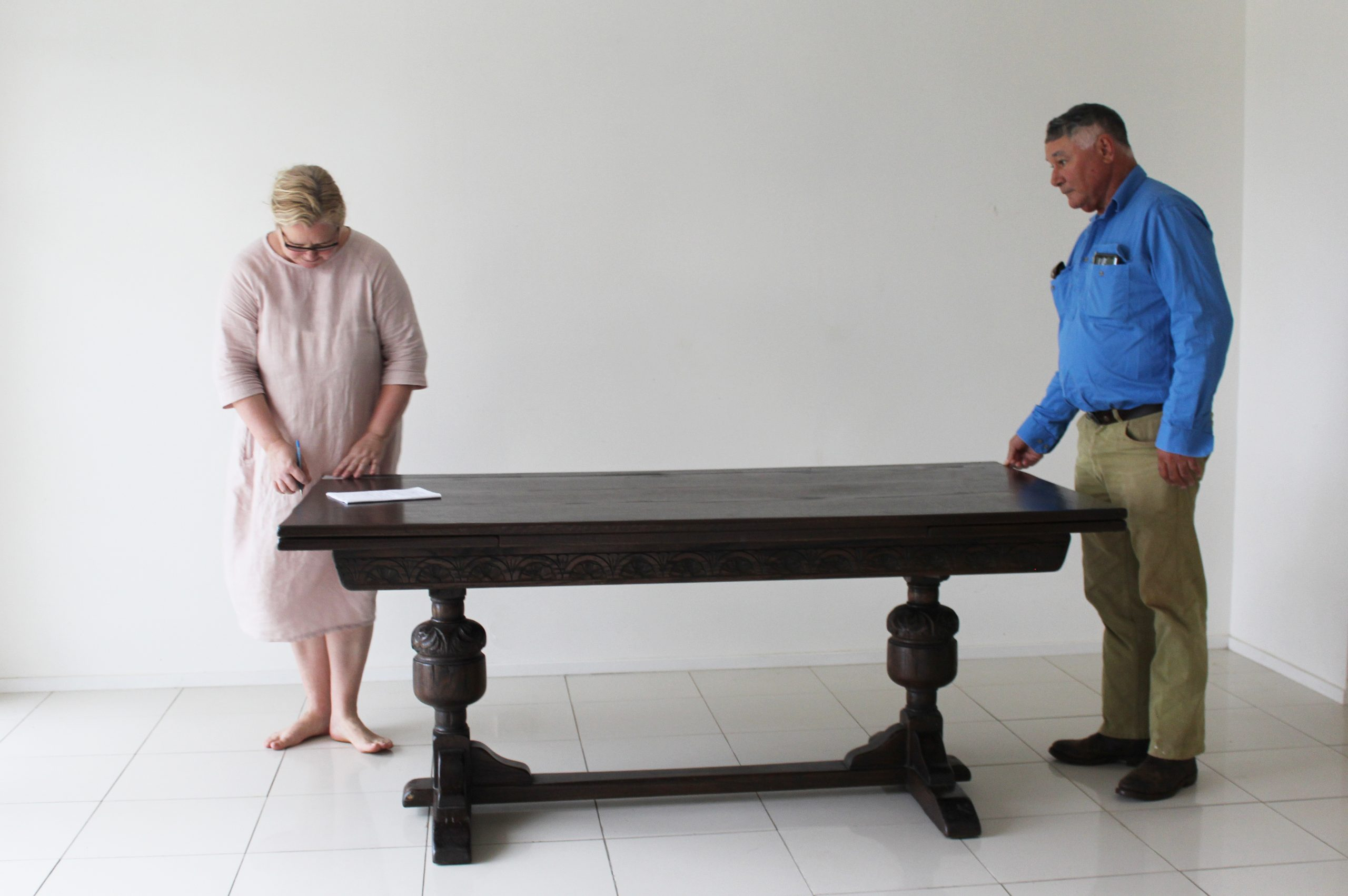 Dining Table, timber table,