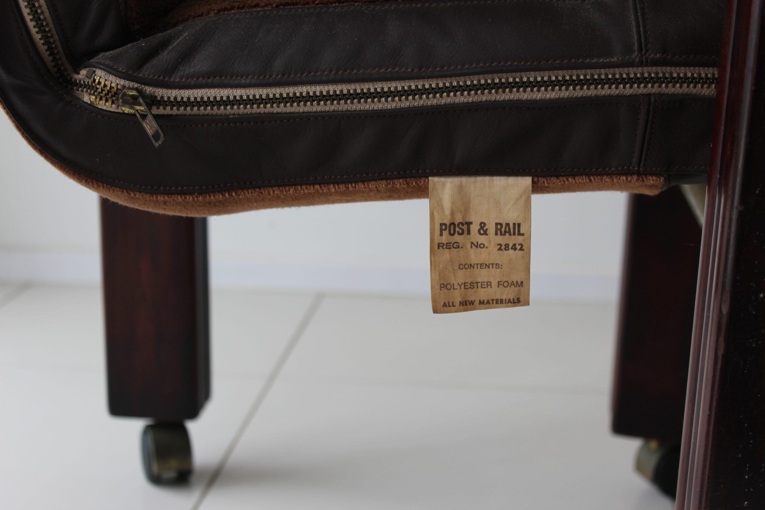 Post & Rail label