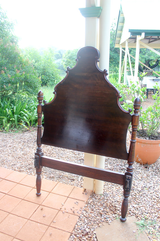 Victorian Single bed ends